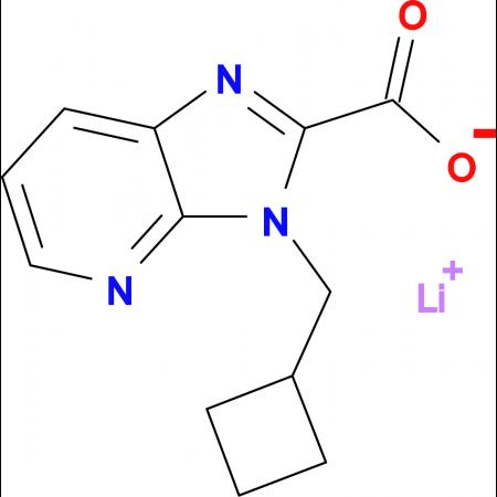 Lithium 3-(cyclobutylmethyl)-3H-imidazo[4,5-b]pyridine-2-carboxylate