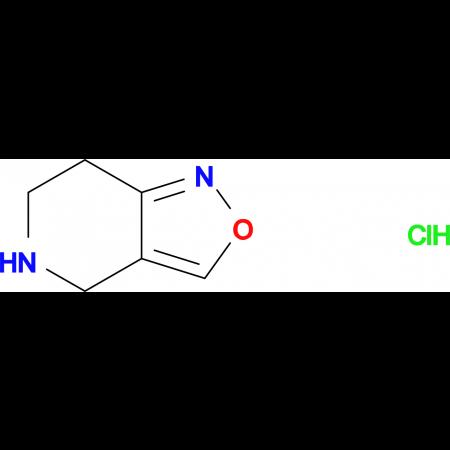 4,5,6,7-tetrahydroisoxazolo[4,3-c]pyridine hydrochloride