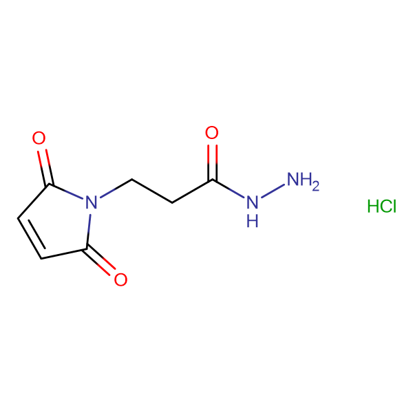 3-(2,5-Dioxo-2,5-dihydro-1H-pyrrol-1-yl)propanehydrazide hydrochloride