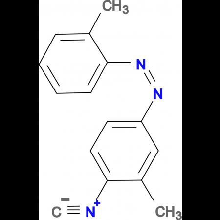 4-Isocyano-2',3-dimethylazo-benzene