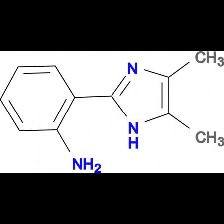 2-(4,5-Dimethyl-1H-imidazol-2-yl)-phenylamine