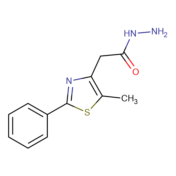 (5-Methyl-2-phenyl-thiazol-4-yl)-acetic acidhydrazide