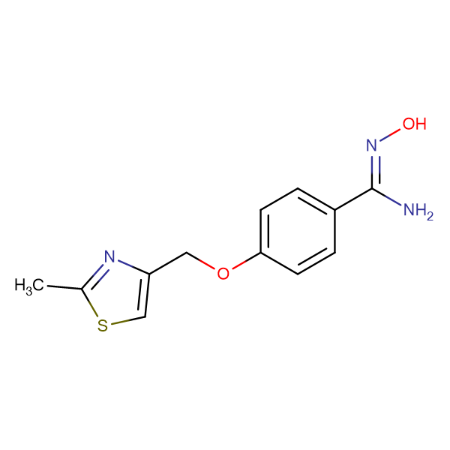 N-Hydroxy-4-(2-methyl-thiazol-4-ylmethoxy)-benzamidine