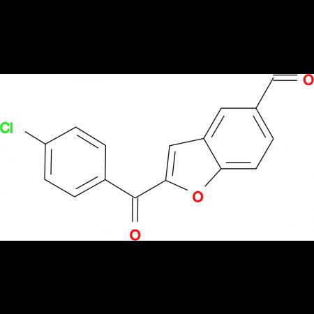 2-(4-Chloro-benzoyl)-benzofuran-5-carbaldehyde