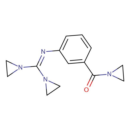 AZIRIDIN-1-YL-(3-[(BIS-AZIRIDIN-1-YL-METHYLENE)-AMINO]-PHENYL)-METHANONE