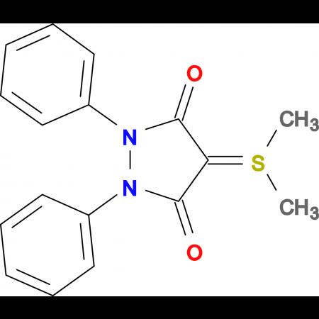 4-Dimethylsulfonium-3,5-dioxo-1,2-diphenyl-tetrahydropyrazol-4-at