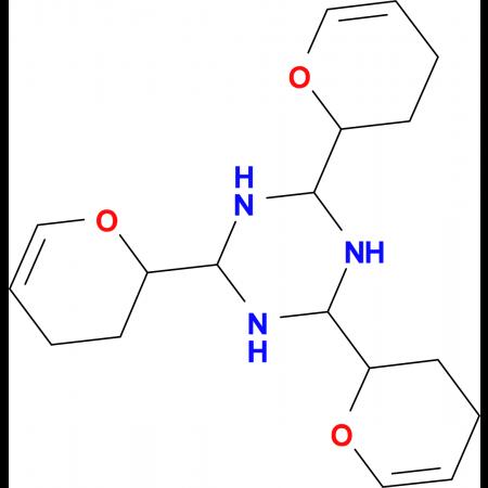 2,4,6-Tris-(3,4-dihydro-2H-pyran-2-yl)-[1,3,5]triazinane