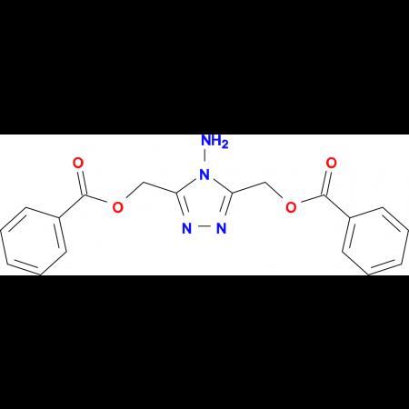 4-Amino-3,5-benzoyloxymethyl-1H-1,2,4-triazole