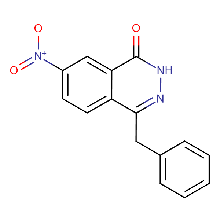 4-Benzyl-7-nitro-2H-phthalazin-1-one