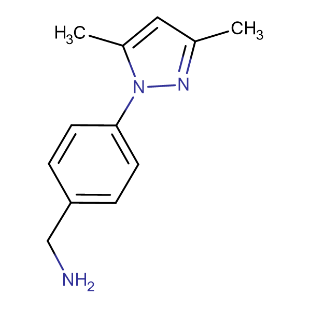 4-(3,5-Dimethyl-pyrazol-1-yl)-benzylamine