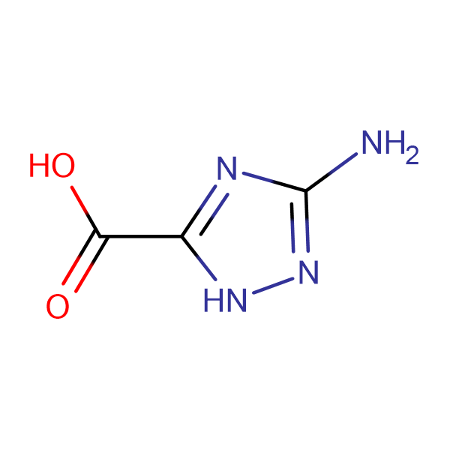3-amino-1H-1,2,4-triazole-5-carboxylic acid