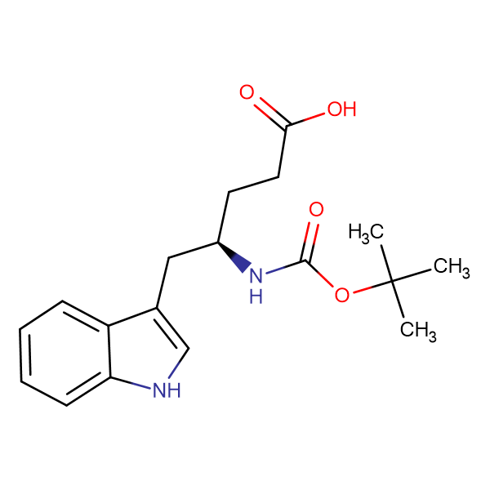 (R)-Boc-4-amino-5-(3-indolyl)pentanoic acid
