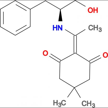 Na-1-(4,4-dimethyl-2,6-dioxocyclohex-1-ylidene)ethyl-L-phenylalaninol