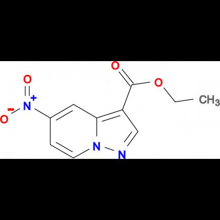 5-Nitro-pyrazolo[1,5-a]pyridine-3-carboxylic acid ethyl ester