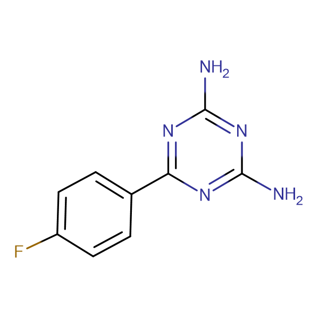 2,4-Diamino-6-(4-fluorophenyl)-1,3,5-triazine