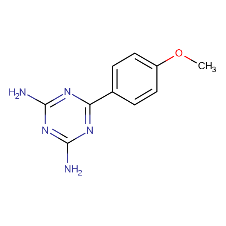 2,4-Diamino-6-(4-methoxyphenyl)-1,3,5-triazine
