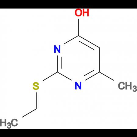 2-Ethylsulfanyl-6-methyl-pyrimidin-4-ol