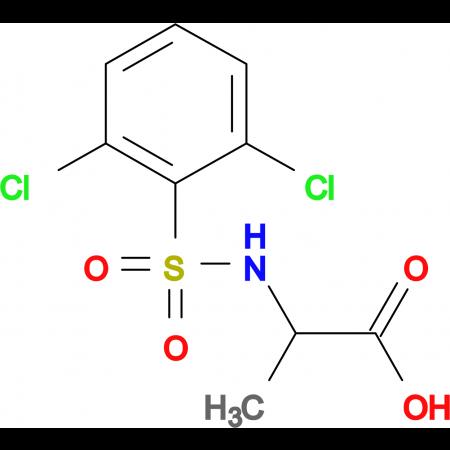 ((2,6-dichlorophenyl)sulfonyl)alanine