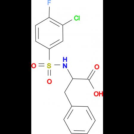 ((3-chloro-4-fluorophenyl)sulfonyl)phenylalanine