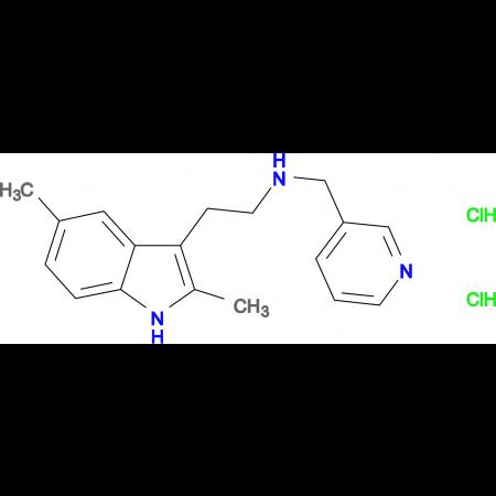 [2-(2,5-Dimethyl-1H-indol-3-yl)ethyl](pyridin-3-ylmethyl)amine dihydrochloride