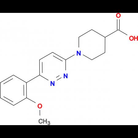 1-[6-(2-methoxyphenyl)pyridazin-3-yl]piperidine-4-carboxylic acid