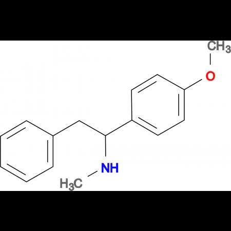 [1-(4-methoxyphenyl)-2-phenylethyl]methylamine