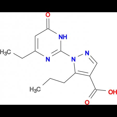 1-(4-ethyl-6-oxo-1,6-dihydropyrimidin-2-yl)-5-propyl-1H-pyrazole-4-carboxylic acid