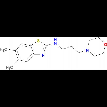 5,6-dimethyl-N-(3-morpholinopropyl)benzo[d]thiazol-2-amine