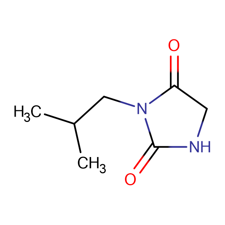 3-isobutylimidazolidine-2,4-dione