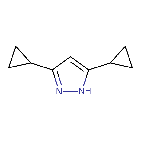 3,5-dicyclopropyl-1H-pyrazole