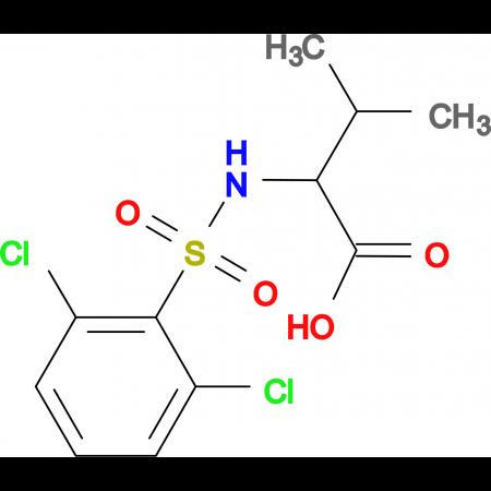 ((2,6-dichlorophenyl)sulfonyl)valine