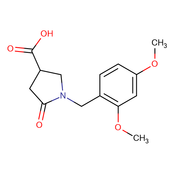 1-(2,4-Dimethoxybenzyl)-5-oxopyrrolidine-3-carboxylic acid