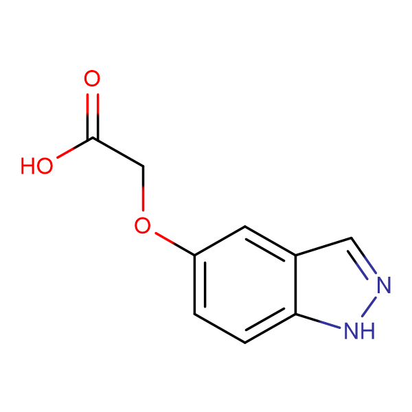 2-((1H-Indazol-5-yl)oxy)acetic acid
