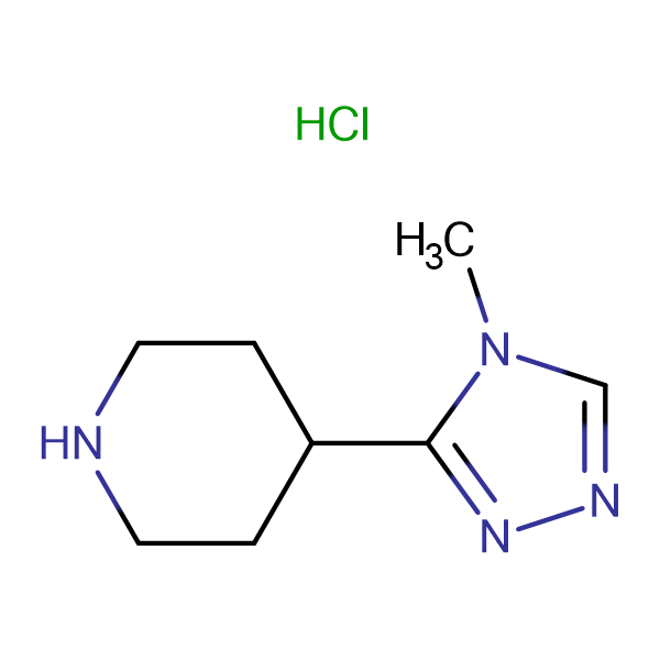 4-(4-Methyl-4H-1,2,4-triazol-3-yl)piperidine hydrochloride