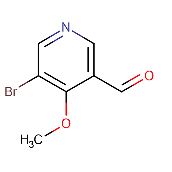 5-Bromo-4-methoxynicotinaldehyde
