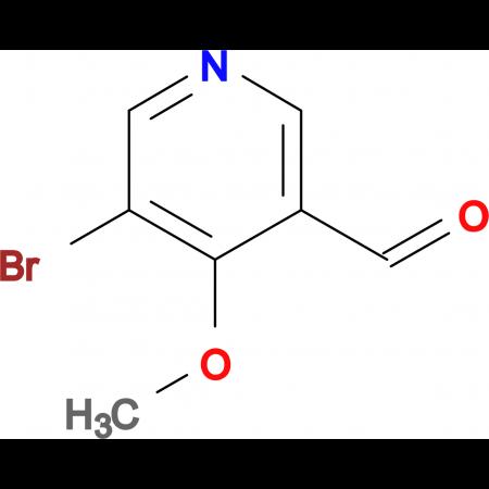 5-Bromo-4-methoxynicotinaldehyde