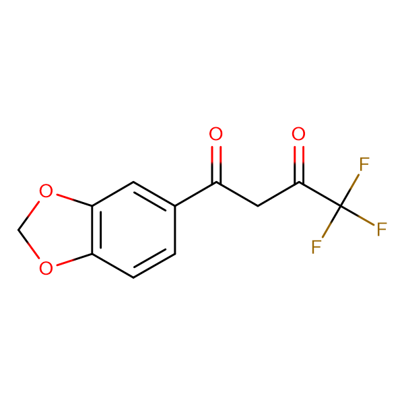 1-(1,3-BENZODIOXOL-5-YL)-4,4,4-TRIFLUOROBUTANE-1,3-DIONE