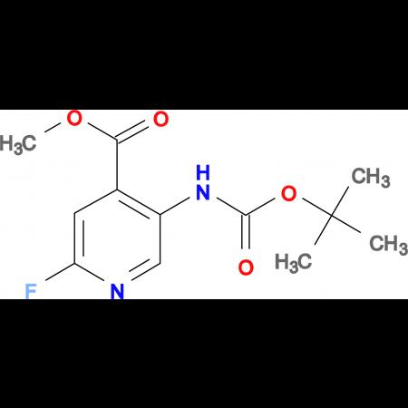 METHYL 5-(BOC-AMINO)-2-FLUOROPYRIDINE-4-CARBOXYLATE