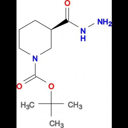 (R)-1-BOC-PIPERIDINE-3-CARBOXYLIC ACID HYDRAZIDE