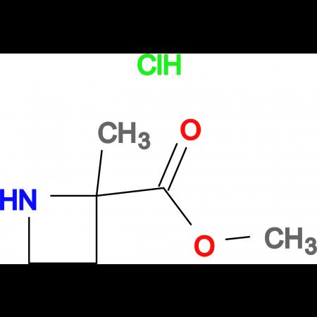 2-AZETIDINECARBOXYLIC ACID,2-METHYL-,METHYL ESTER,HCL