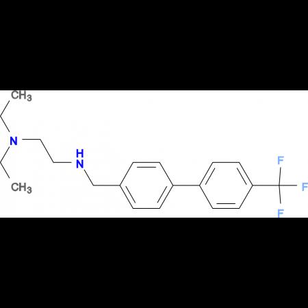 N,N-DIETHYL-N'-(4'-TRIFLUOROMETHYLBIPHENYL-4-YLMETHYL)-ETHANE-1,2-DIAMINE