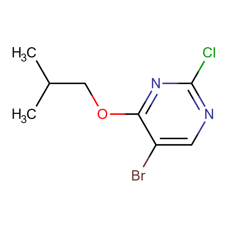 5-BROMO-2-CHLORO-4-ISOBUTYLOXYPYRIMIDINE