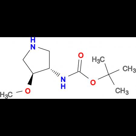 TRANS-3-(BOC-AMINO)-4-METHOXYPYRROLIDINE