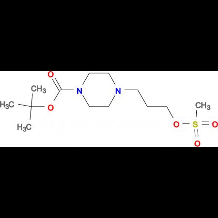 TERT-BUTYL 4-(3-((METHYLSULFONYL)OXY)PROPYL)PIPERAZINE-1-CARBOXYLATE