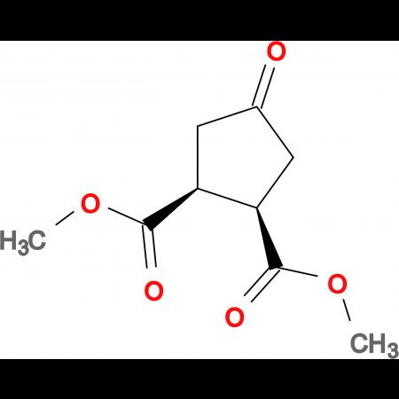 4-OXO-CYCLOPENTANE-CIS-1,2-DICARBOXYLIC ACID DIMETHYL ESTER