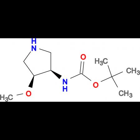 CIS-3-(BOC-AMINO)-4-METHOXYPYRROLIDINE