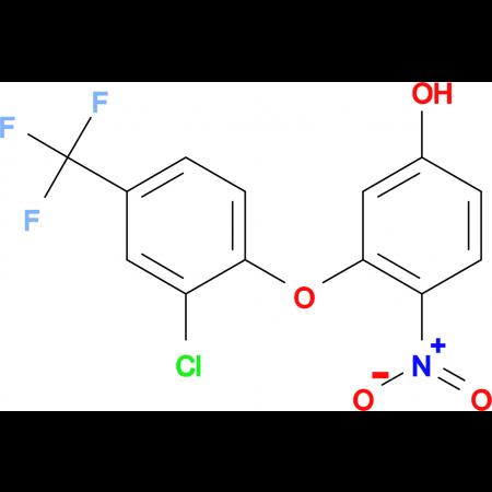 3-[2-Chloro-4-(trifluoromethyl)phenoxy]-4-nitrophenol