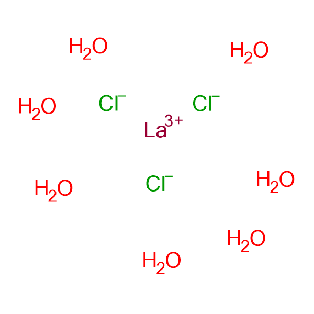 Lanthanum chloride, Hydrated