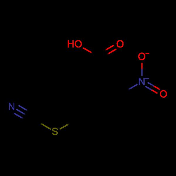 5-(cyanosulfanyl)-2-nitrobenzoic acid