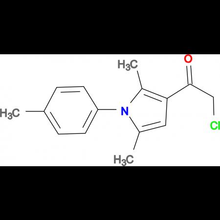 2-chloro-1-(2,5-dimethyl-1-(p-tolyl)-1H-pyrrol-3-yl)ethan-1-one